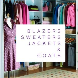 🧥 Blazers, jackets, sweaters and coats